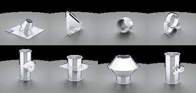 3D Visualisierung Produktkatalog ERO Edelstahl-Rohrtechnik GmbH